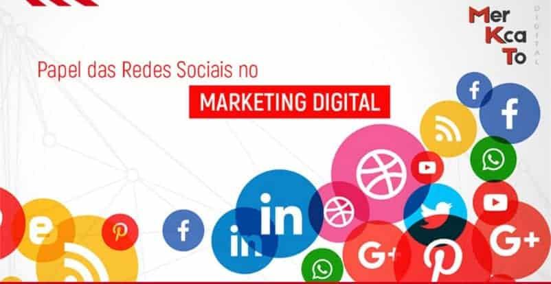 redes sociais no marketing digital
